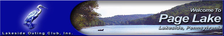 Page Lake, Susquehanna County Pennsylvania